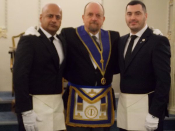 WBro with visiting EAs