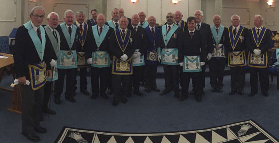 Brethren with Guests